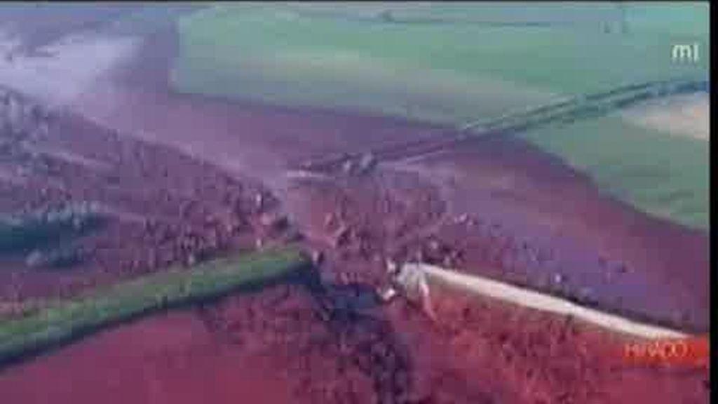 'Tragedia del lodo rojo' en Hungría