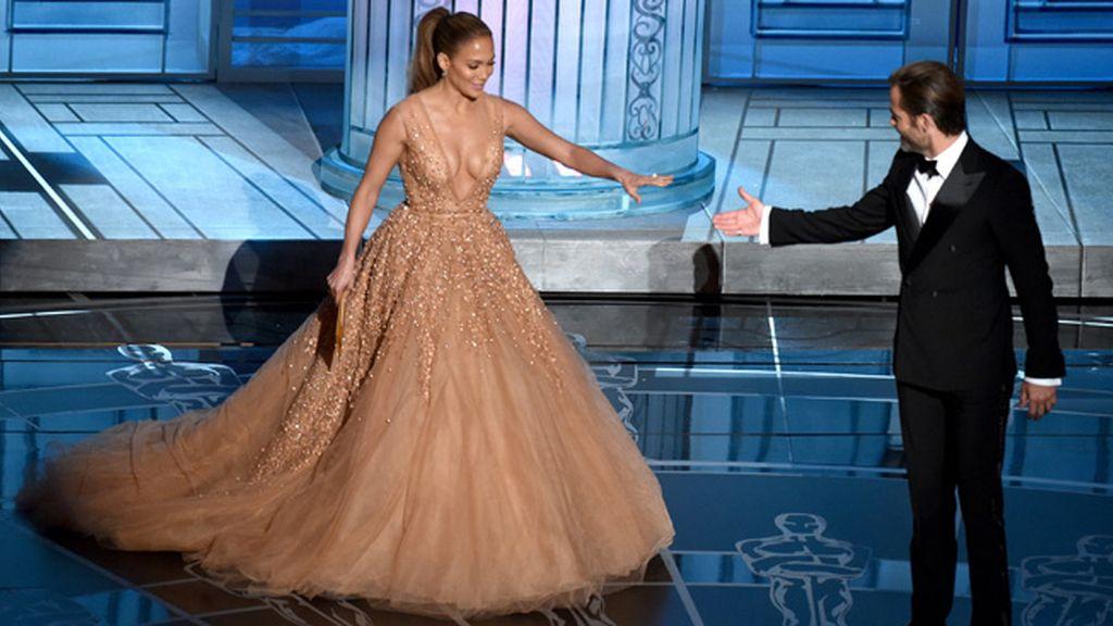 Jennifer López y Chris Pine