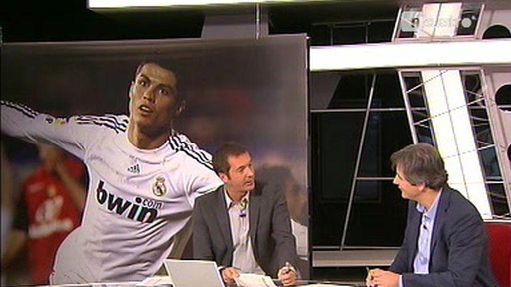 Los Manolos analizan el partidazo de Ronaldo en Mallorca