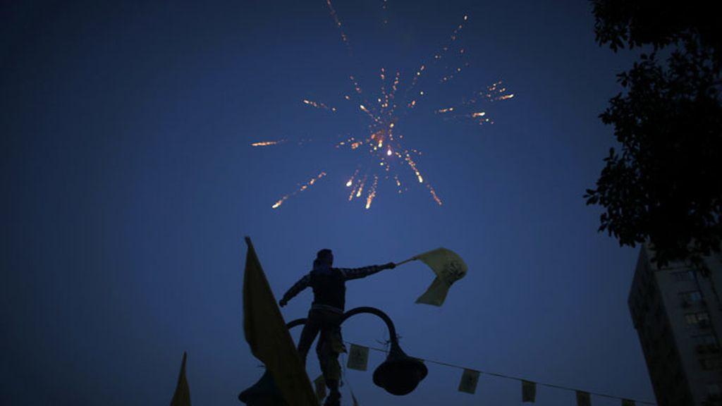 Fiesta de reivindicación en Palestina por el nuevo año