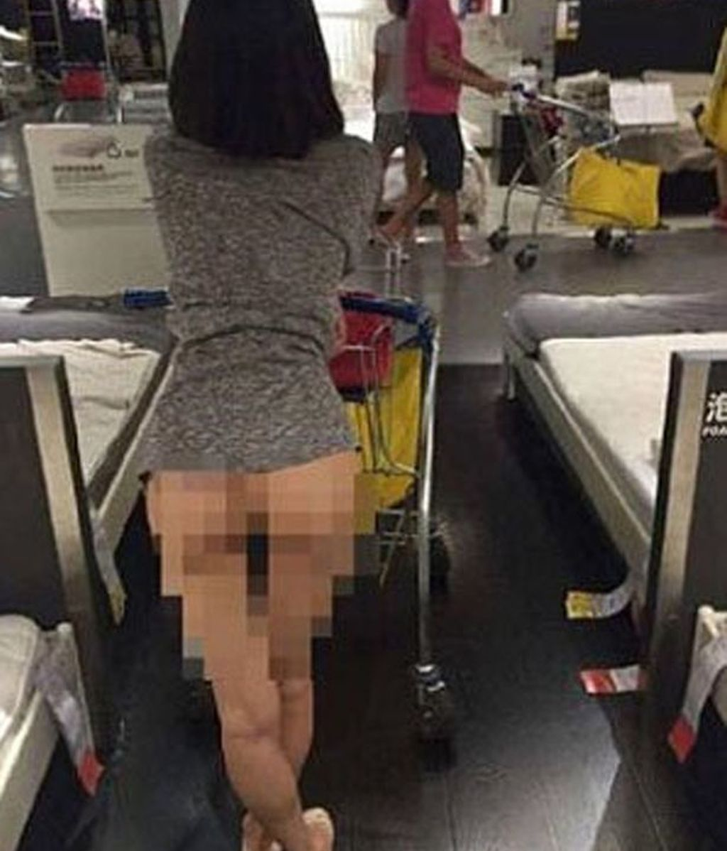 Desnuda en Ikea