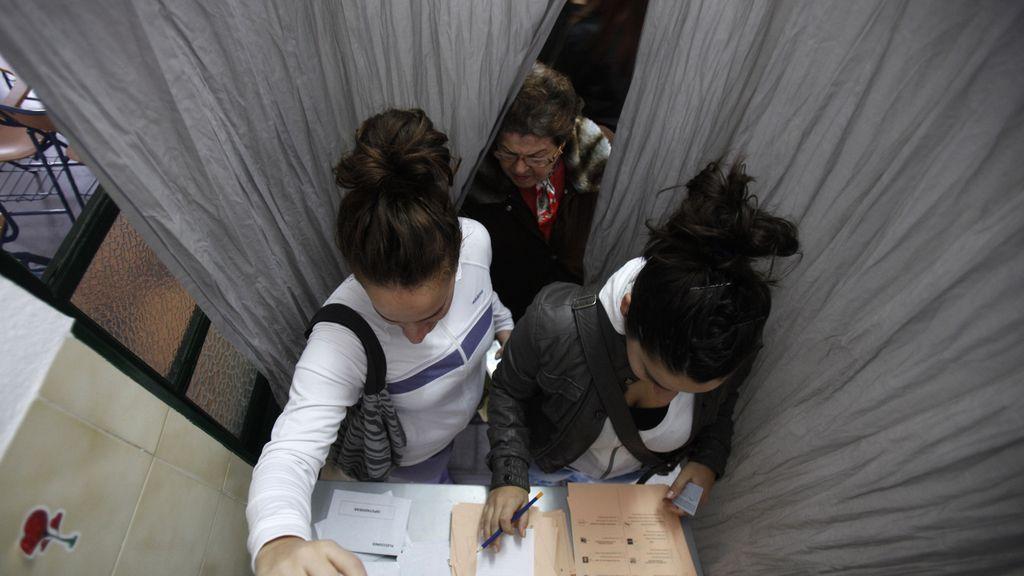 La jornada electoral