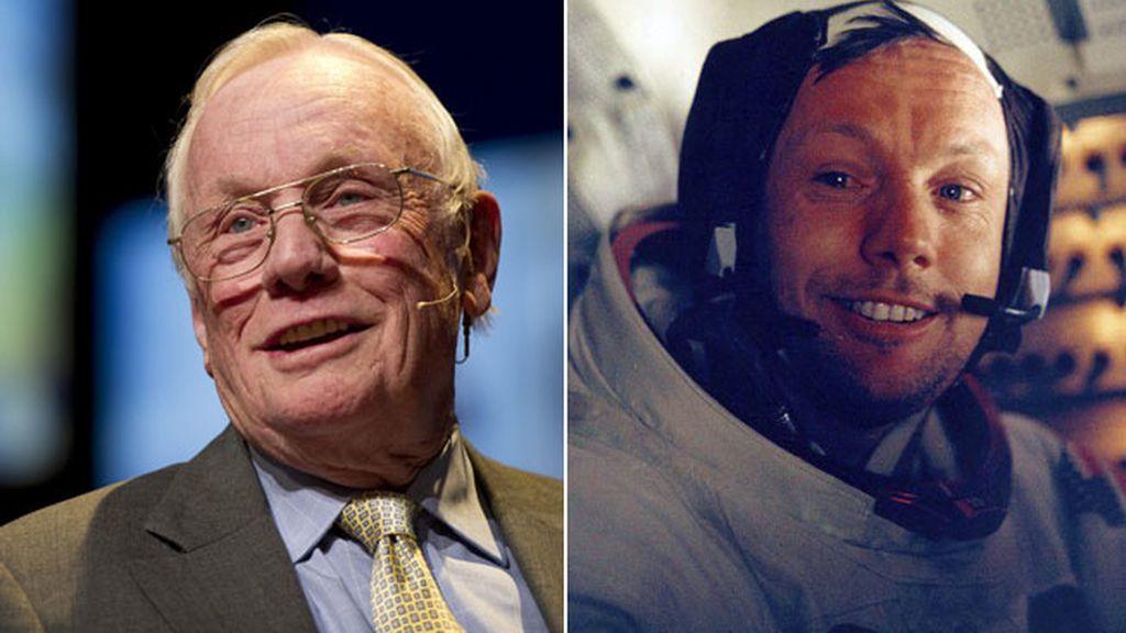 El primer hombre que puso un pie en La Luna