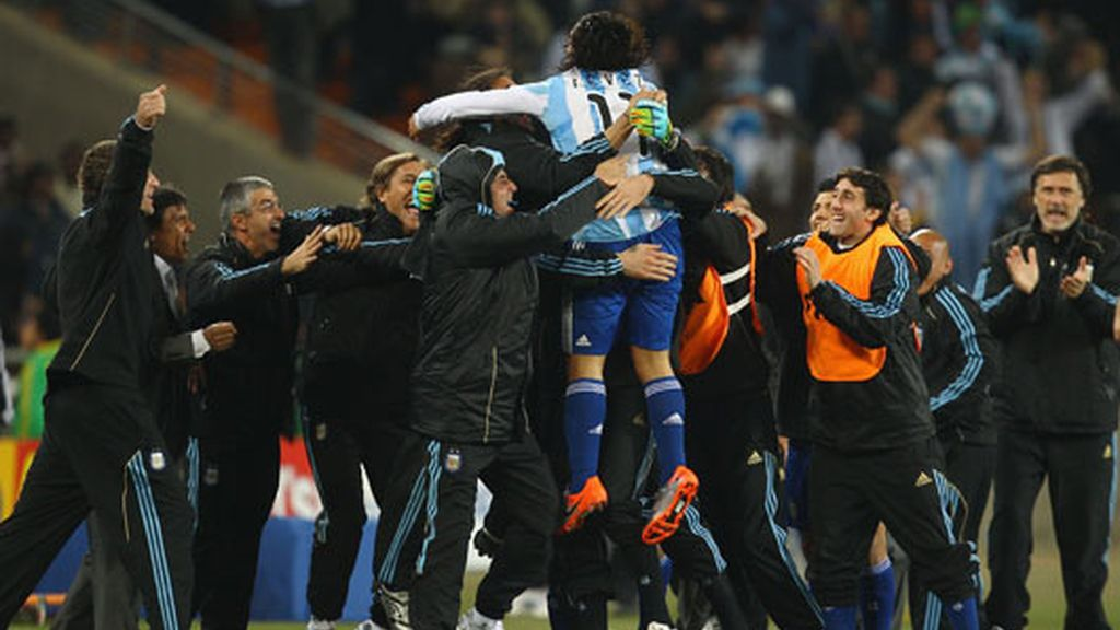 Argentina-México, cuartos a la vista