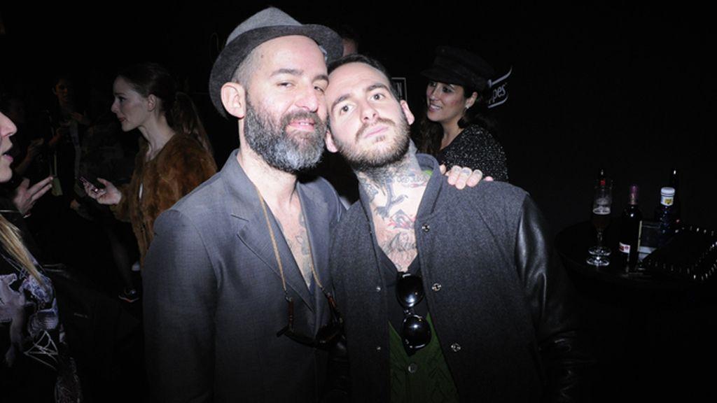 El dj Sergio Bianchi e Israel Birdie (pajarillosays.com)