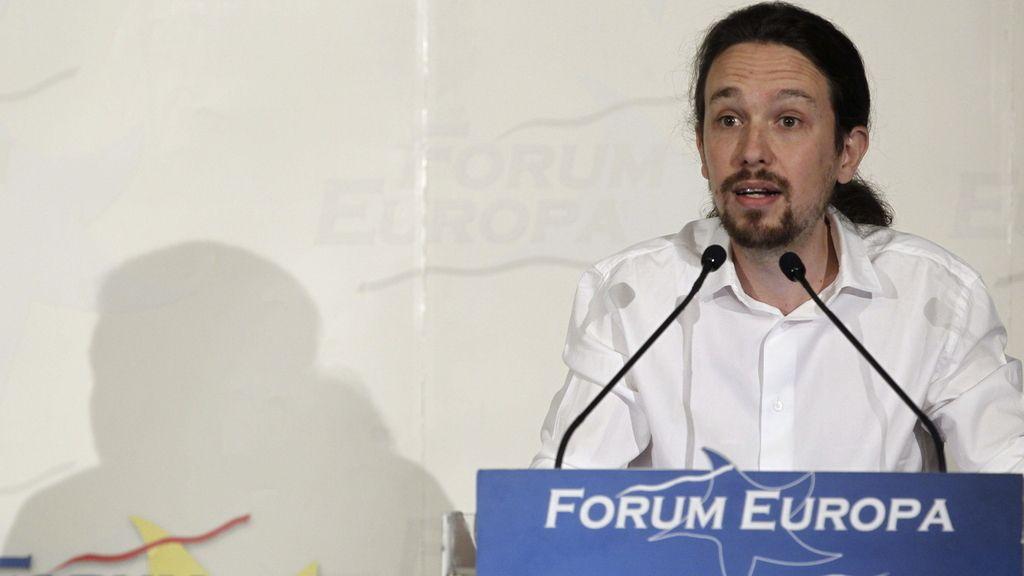 Pablo Iglesias en Forum Europa