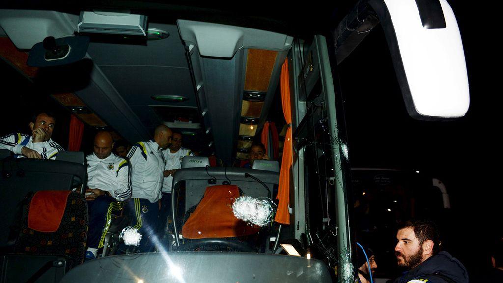 Ataque al autobús del Fenerbahce