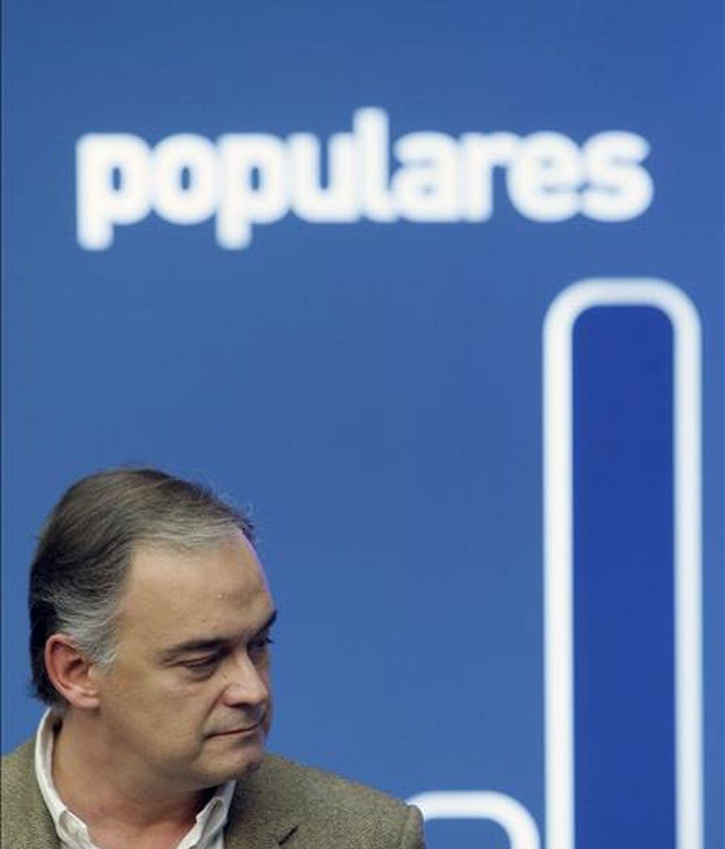 El responsable de Comunicación de los populares, Esteban González Pons. EFE/Archivo