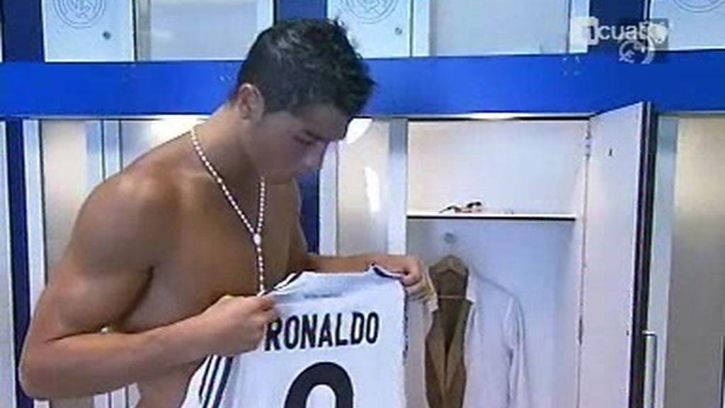 Así vivió Cristiano Ronaldo las horas previas a su presentación