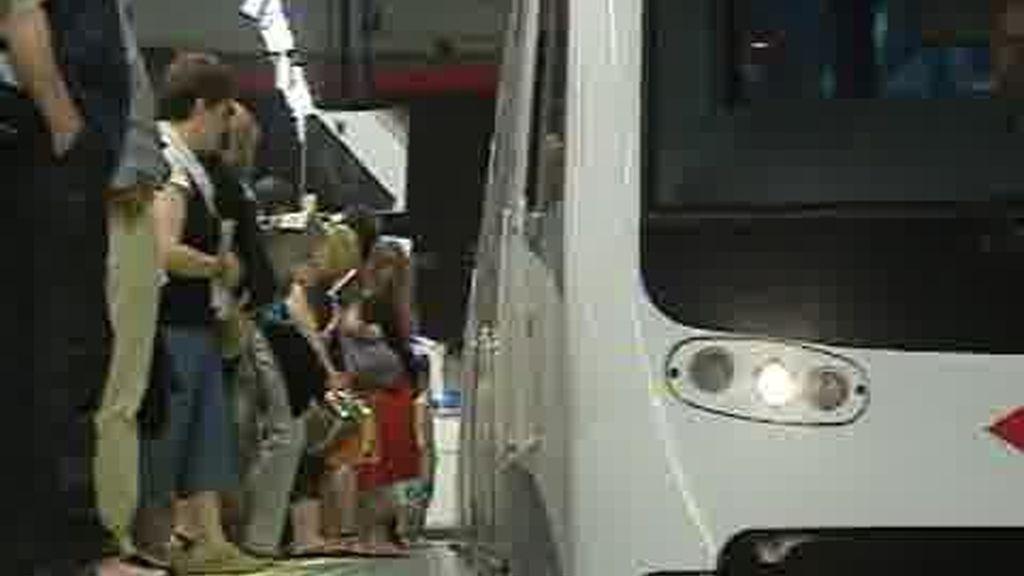 Cuarta jornada de la huelga de metro