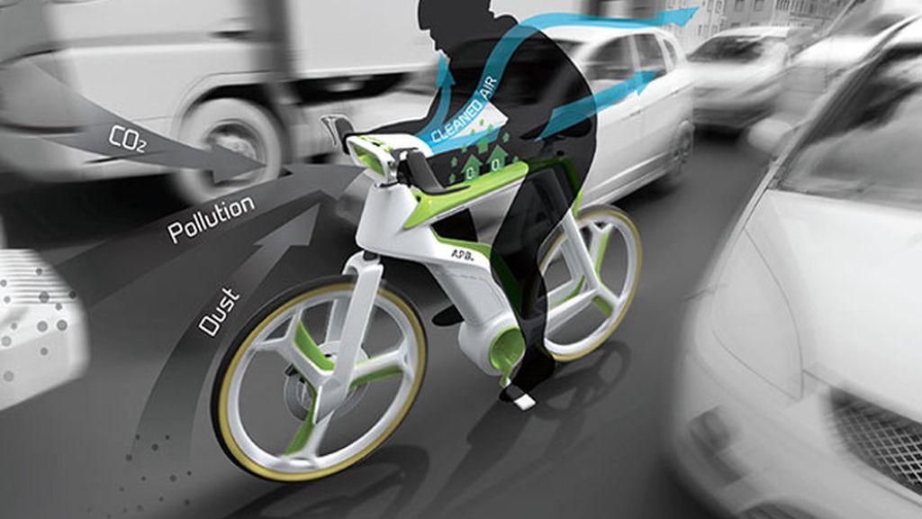 bicicleta, ecológica, transporte ecológico, premio Red Dot diseño,