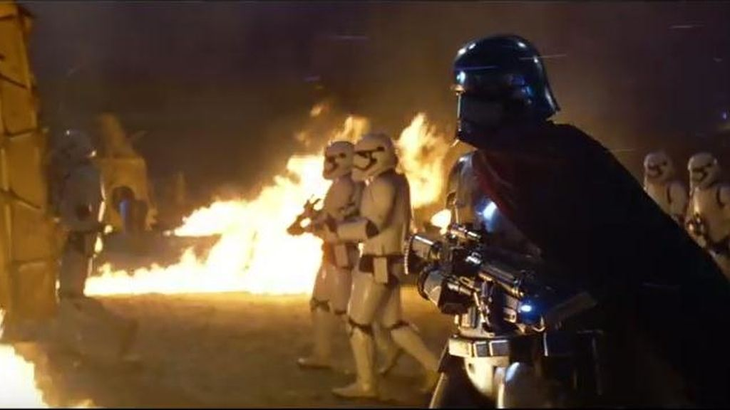 Star Wars trailer capitana Phasma