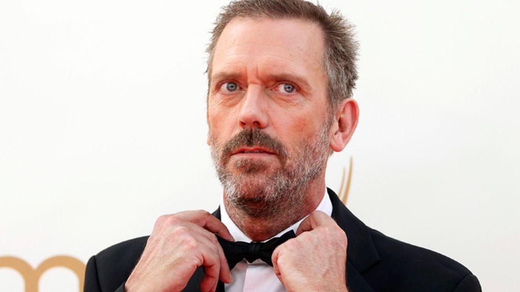 Hugh Laurie, en la ceremonia de los premios Emmy de Los Ángeles (2011)