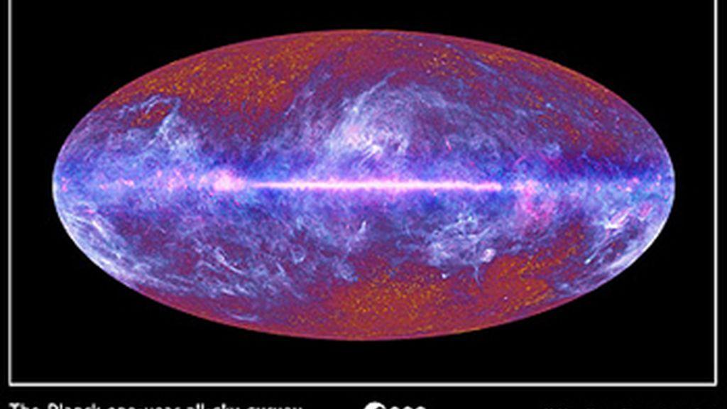 El telescopio espacial Planck desvela el mapa más completo del Universo