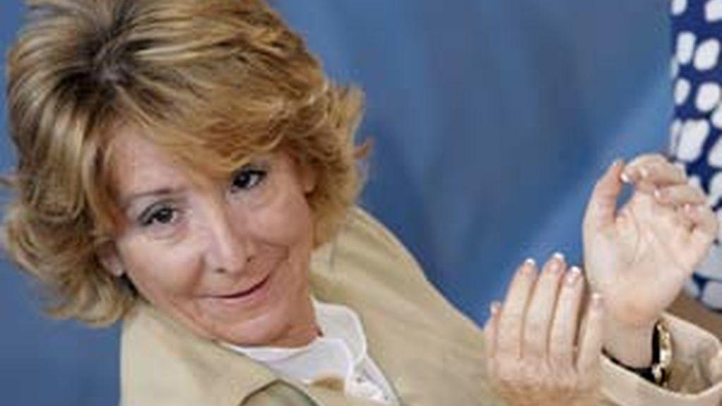 La presidenta de la Comunidad de Madrid, Esperanza Aguirre. Foto: EFE