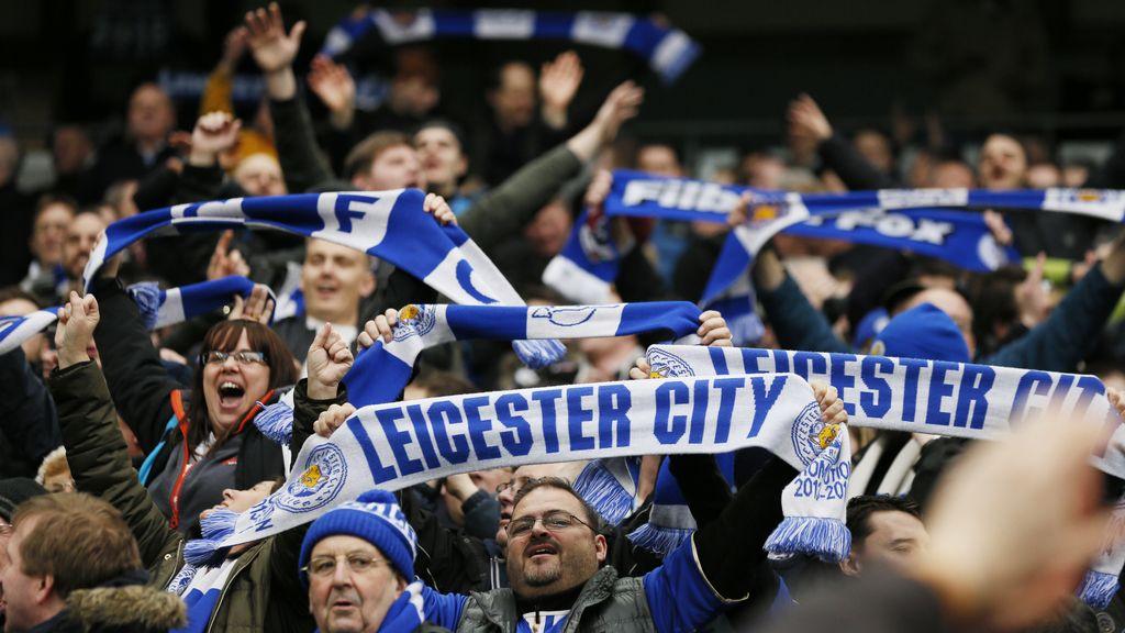 Los hinchas del Leicester City viven en una nube (06/02/2016)