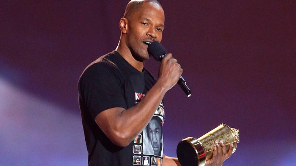Jamie Foxx ha recibido el galardón especial Generación MTV