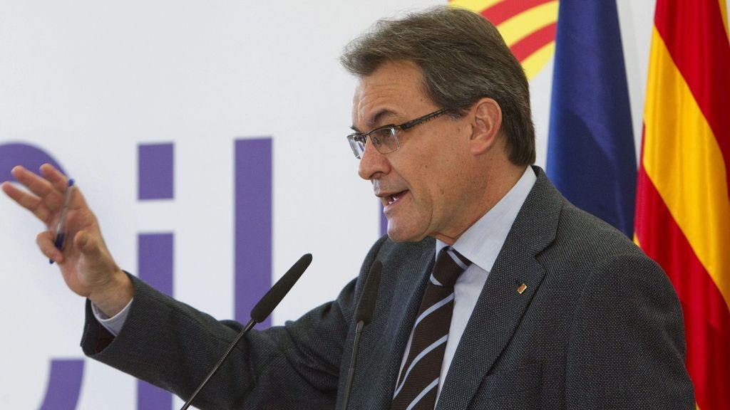 Mas quiere llevar a Cataluña a ser un Estado propio tomando a Europa como referencia