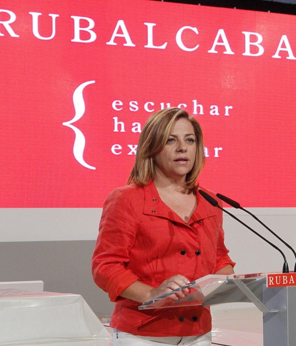 Valenciano confía en las posibilidades de Rubalcaba. EFE