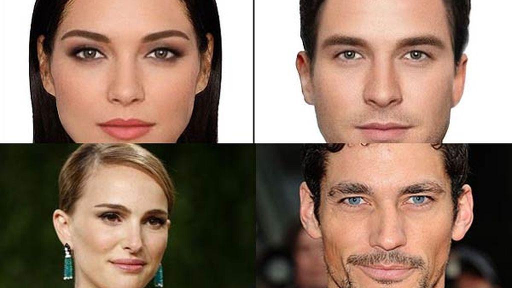 Los rostros más bellos del mundo hechos por ordenador