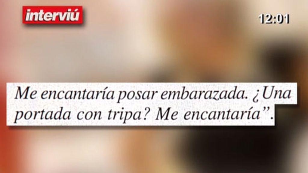 Belén Esteban repasa sus 'Interviú'