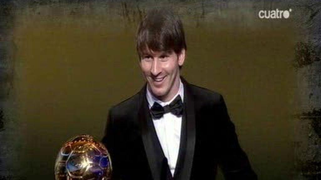 Lionel Messi, Balón de Oro 2010