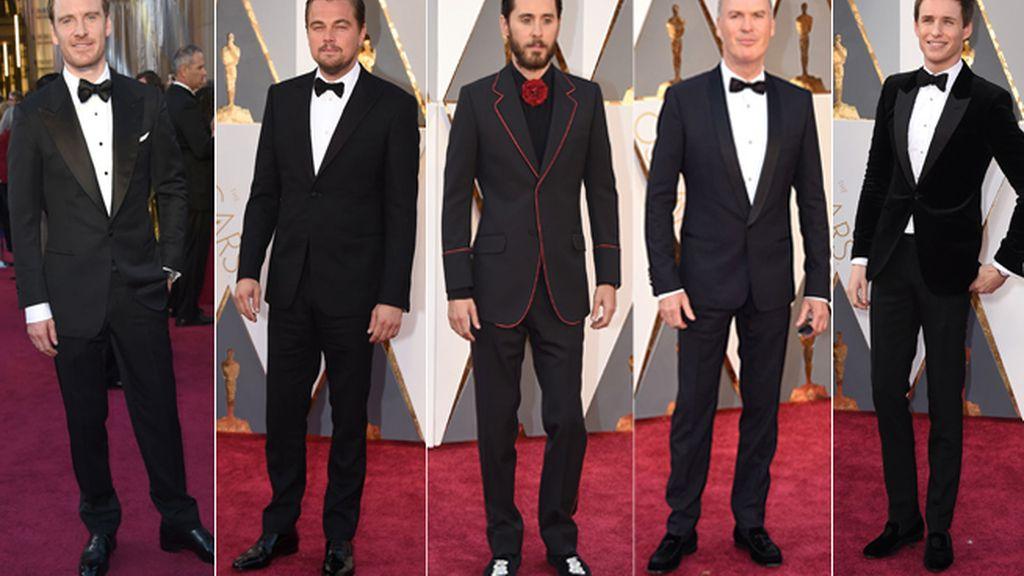 Jared Leto desafía al esmoquin entre los 'looks' de los hombres en los Óscar 2016