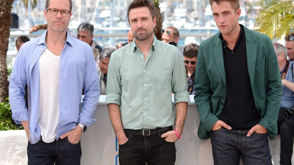 Pearce, Michod y Pattinson, en Cannes