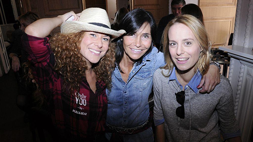María Chacón, Raquel Guarinos y Ana Ureña