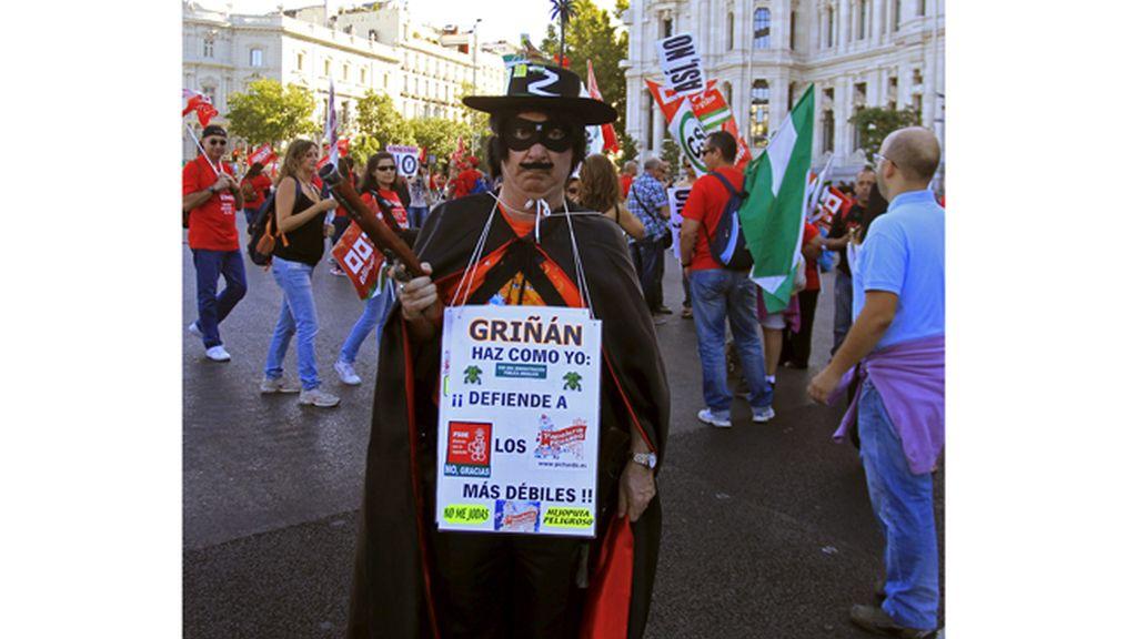 Manifestaciones contra los recortes