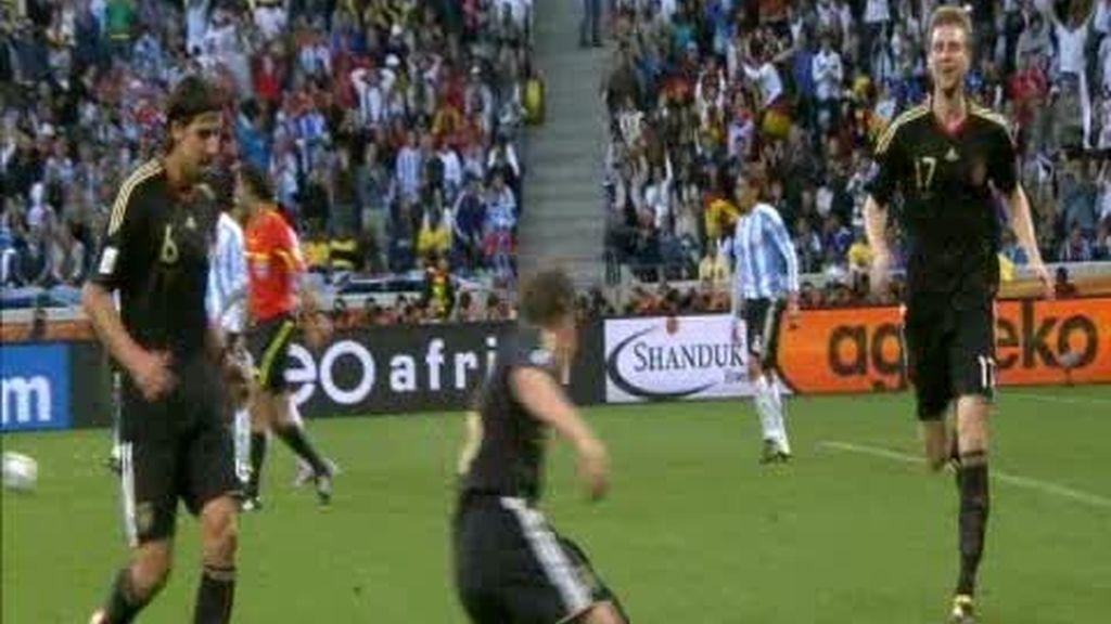 Cuartos: Argentina 0 - 4 Alemania