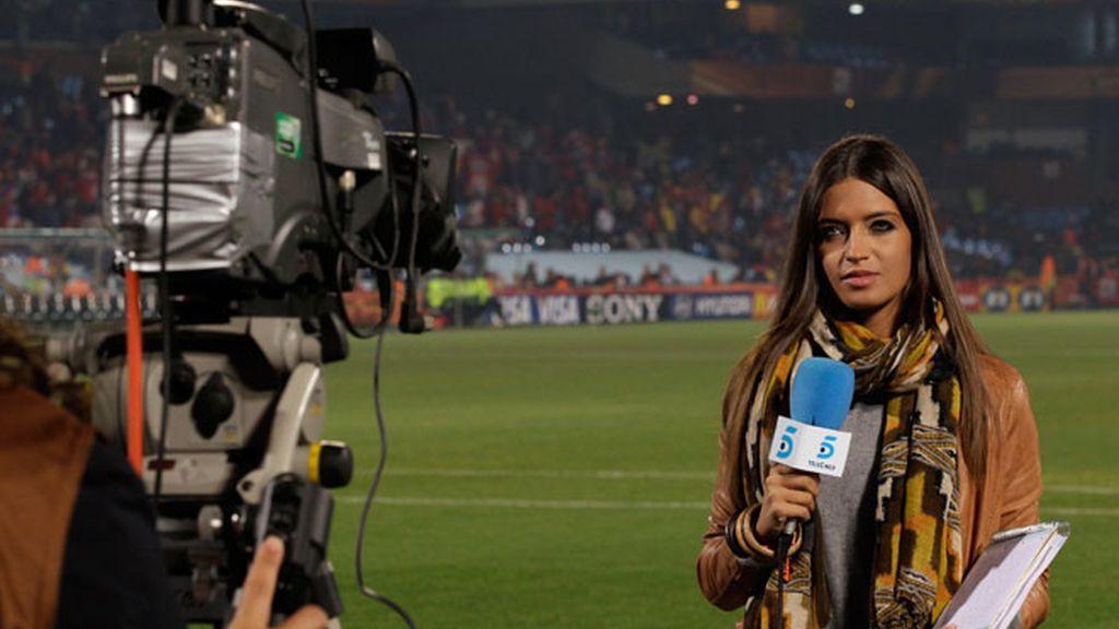Sara Carbonero despide los 26 como candidata al TP de Oro