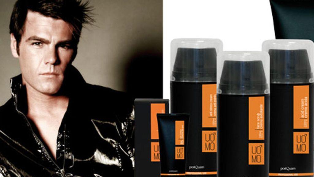 Fonsi dio un paso adelante con la cosmética al promocionar los productos de Postquam