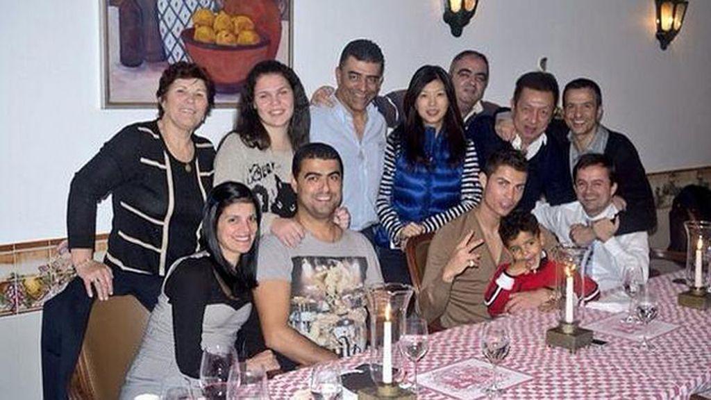La foto más familiar de Cristiano Ronaldo