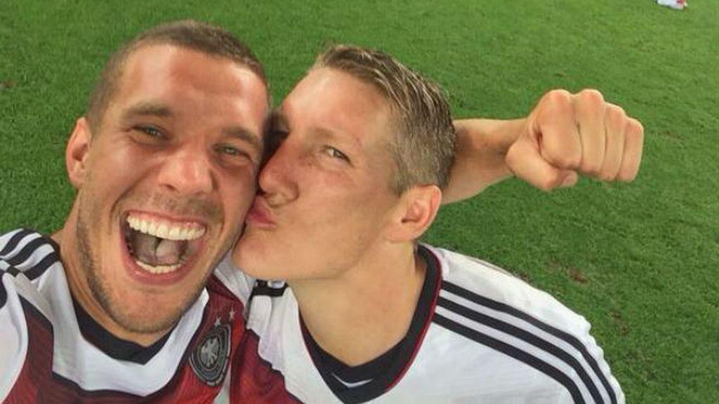 Un selfie que bien vale un Mundial, el que ganó Alemania este verano en Brasil