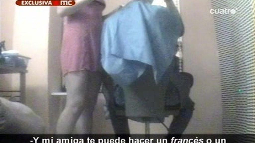 La peluquera erótica, reportaje exclusivo de Las Mañanas