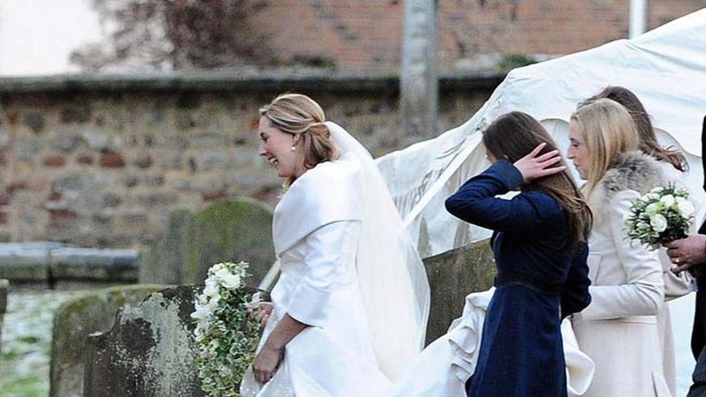 Guillermo y Kate toman nota en la boda de unos amigos