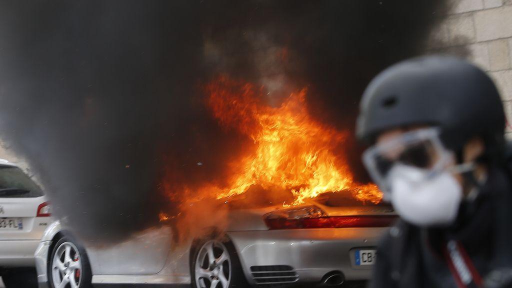 Protestas en Francia contra la reforma laboral