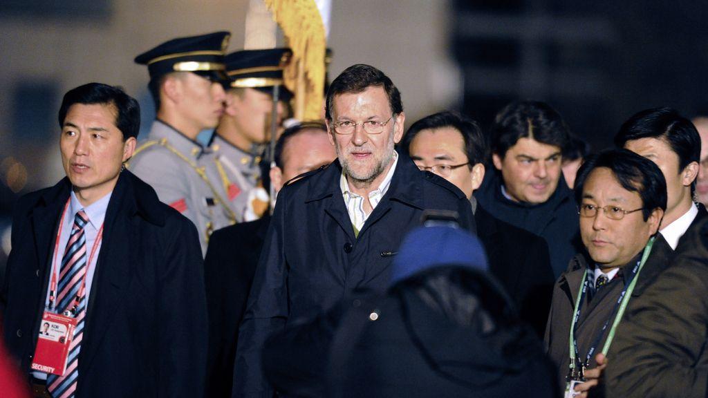 Mariano Rajoy en Seúl