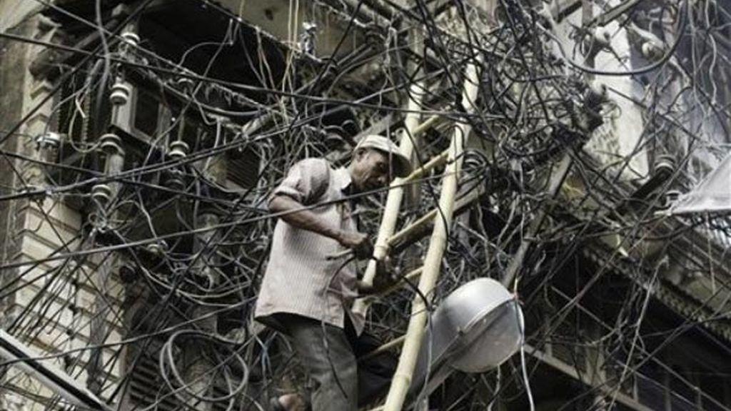 Electricista en la India