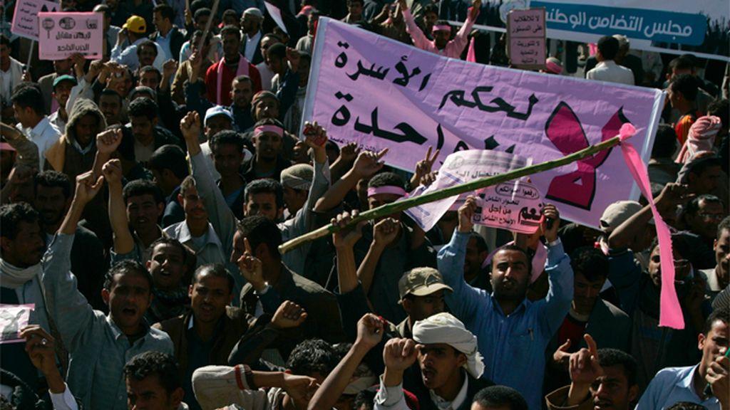"""Yemen protesta en el """"Día de la Rabia"""""""