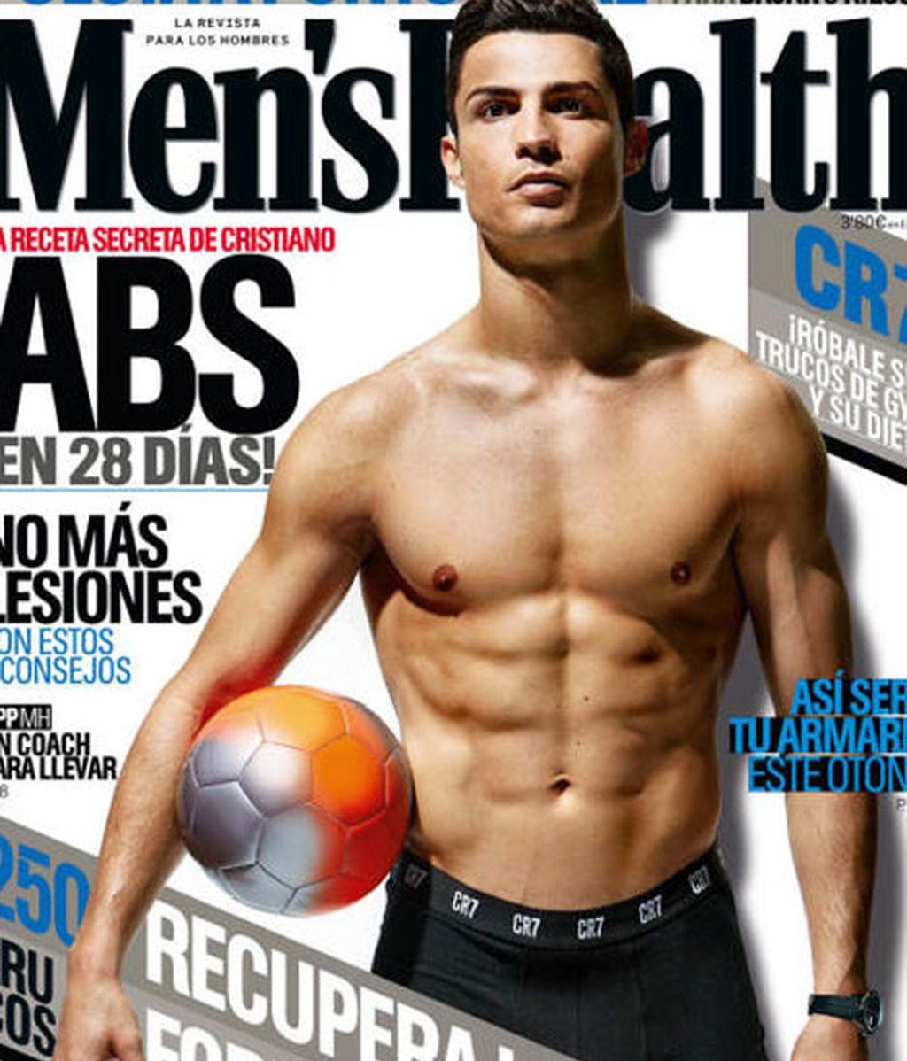 Cristiano Ronaldo, portada de Men's Health
