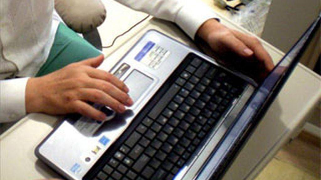Imagen de archivo de un ordenador.