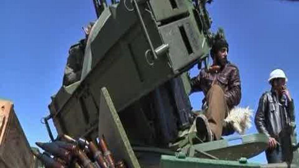 La OTAN advierte a Gadafi