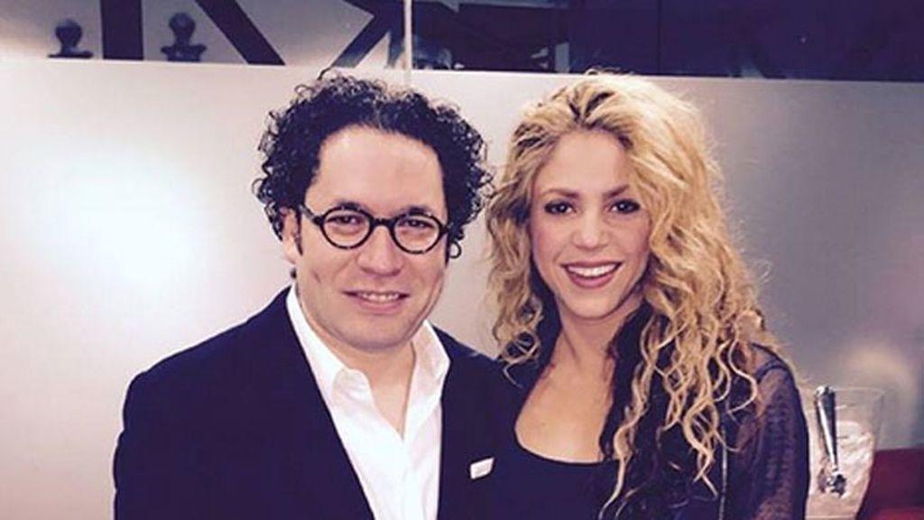 Es amigo de Shakira ¡y seguidor del Barça!
