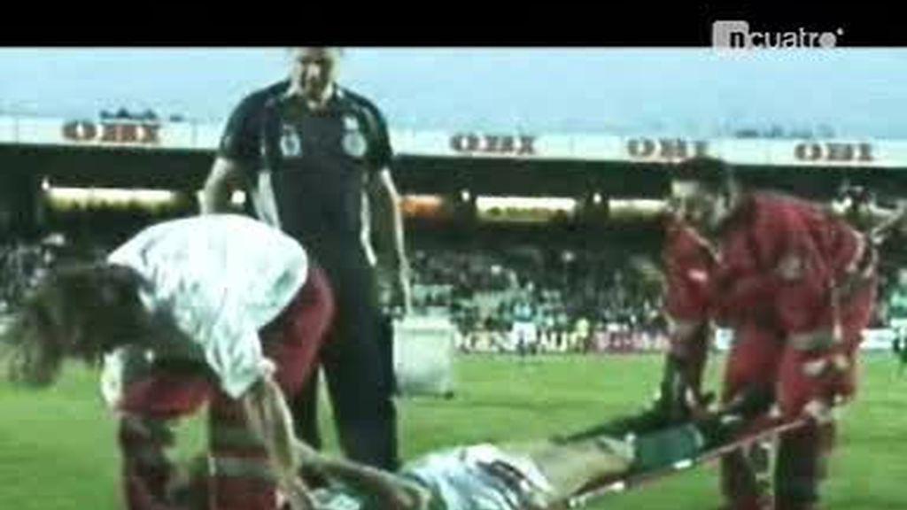 """Historia del Fútbol: Capítulo """"Los camilleros"""""""