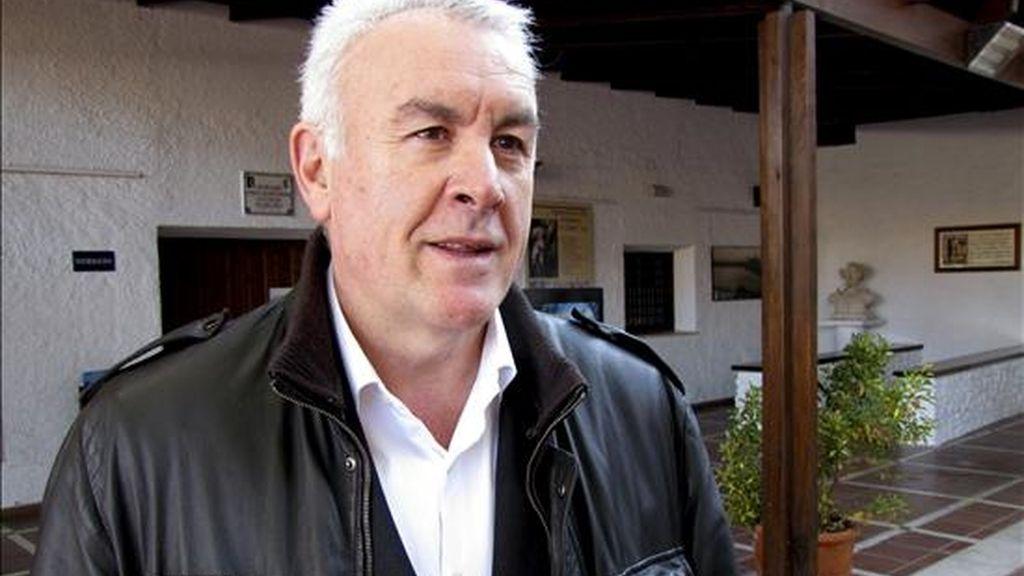 El coordinador general de Izquierda Unida (IU), Cayo Lara. EFE/Archivo
