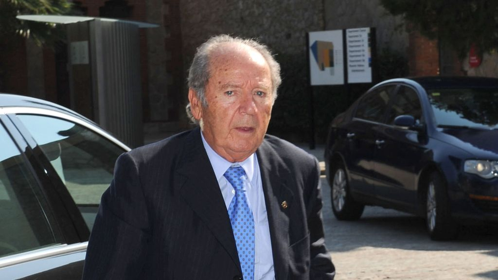 José Luis Núñez, expresidente del FC Barcelona