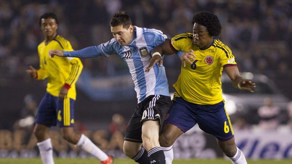Leo Messi, con la selección de Argentina
