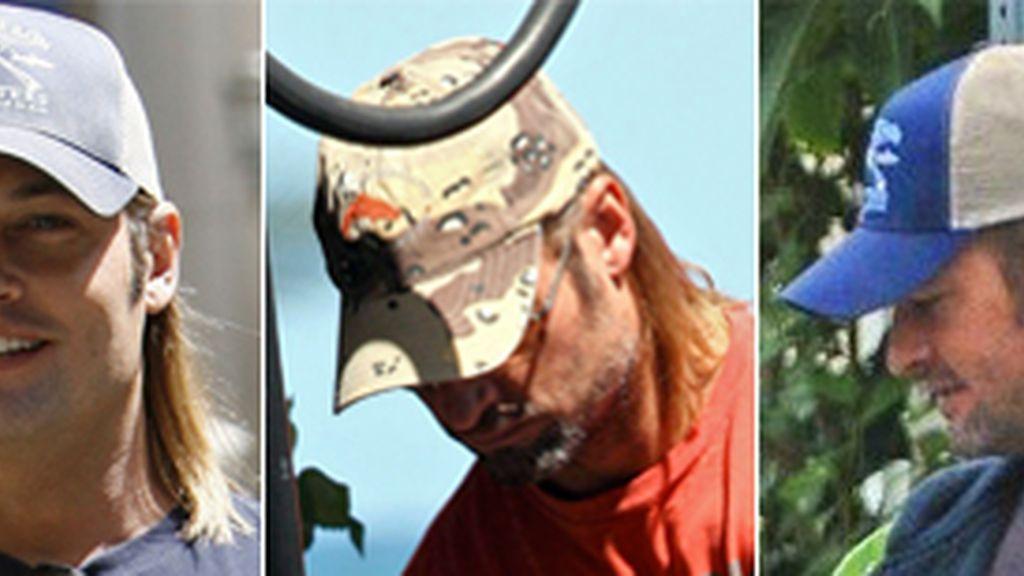 Gorras de Josh Holloway